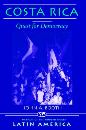 Costa Rica: Quest For Democracy, 1st Edition (Paperback) book cover