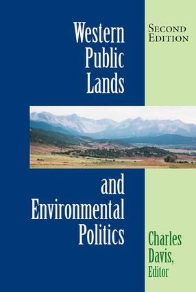 Western Public Lands And Environmental Politics: 2nd Edition (Paperback) book cover
