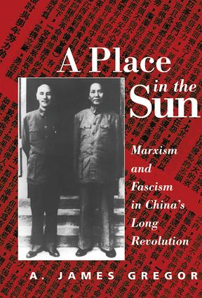 A Place In The Sun: Marxism And Fascimsm In China's Long Revolution, 1st Edition (Hardback) book cover
