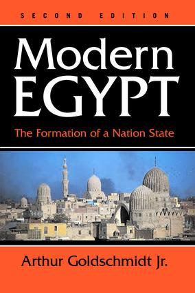 Modern Egypt: The Formation Of A Nation-state, 2nd Edition (Paperback) book cover