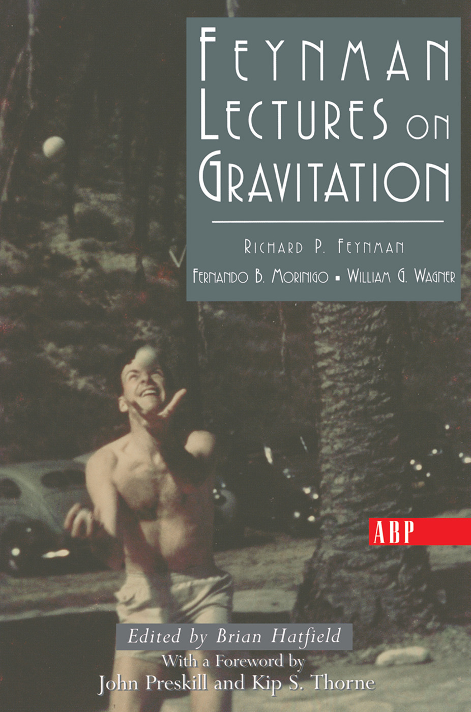 Feynman Lectures On Gravitation book cover