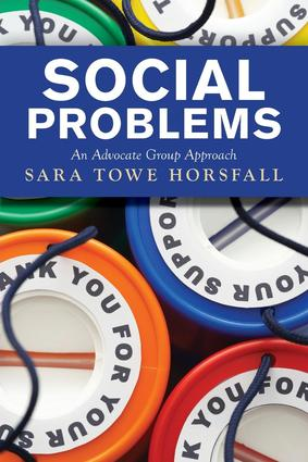 Social Problems: An Advocate Group Approach book cover
