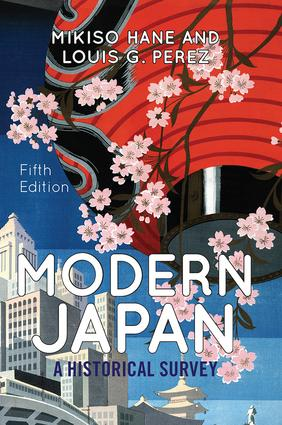 Modern Japan: A Historical Survey book cover