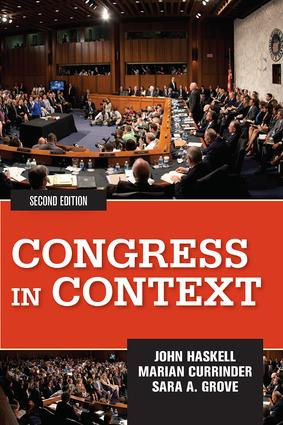 Congress in Context: 2nd Edition (Paperback) book cover
