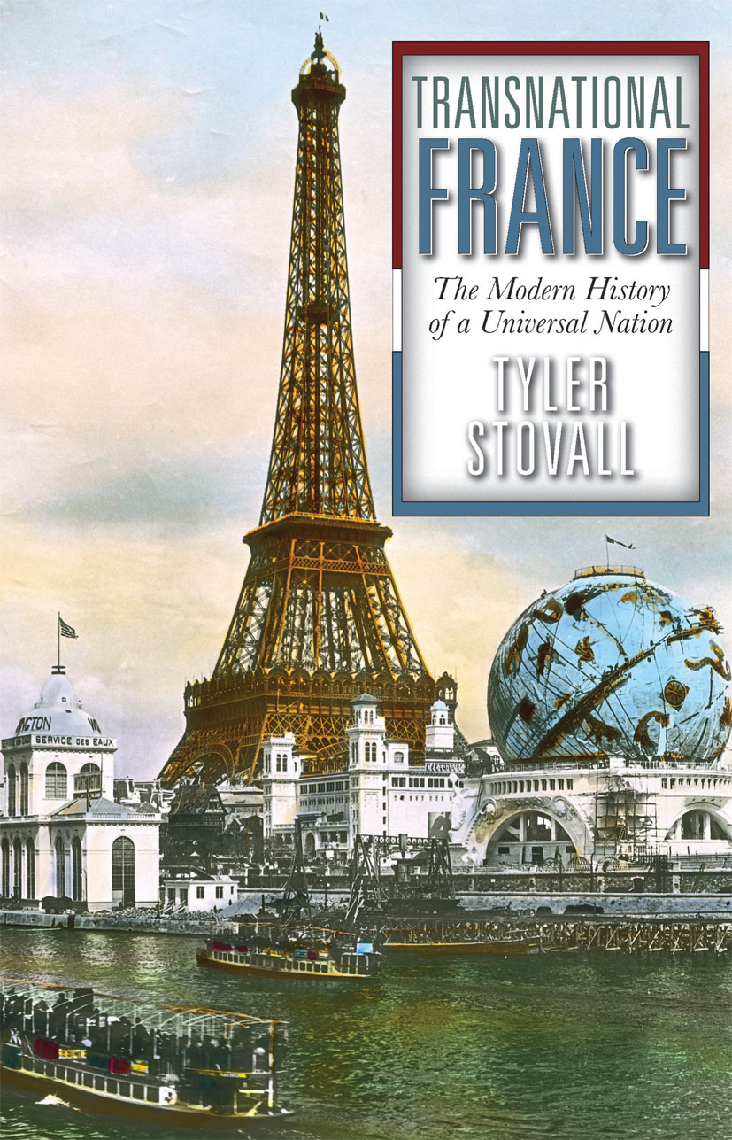 Transnational France: The Modern History of a Universal Nation, 1st Edition (Paperback) book cover