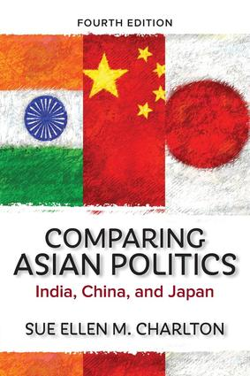 Comparing Asian Politics: India, China, and Japan, 4th Edition (Paperback) book cover