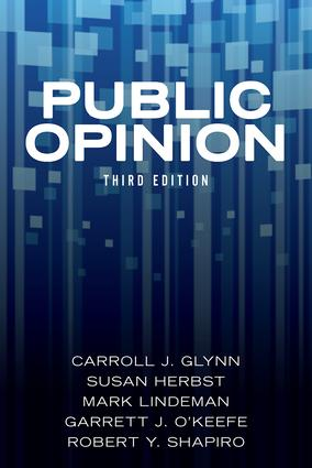 Public Opinion: 3rd Edition (Paperback) book cover