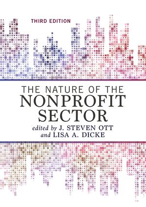 The Nature of the Nonprofit Sector: 3rd Edition (Paperback) book cover