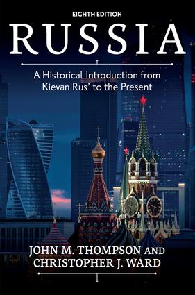 Russia: A Historical Introduction from Kievan Rus' to the Present, 8th Edition (Paperback) book cover