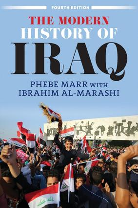 The Modern History of Iraq: 4th Edition (Paperback) book cover