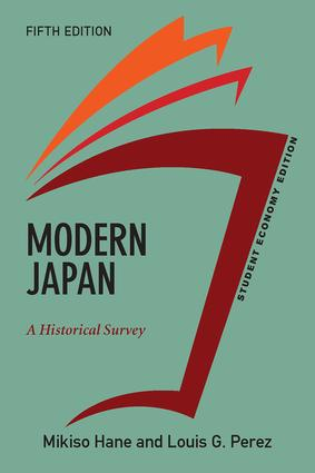 Modern Japan, Student Economy Edition: A Historical Survey book cover