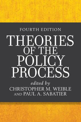 Theories of the Policy Process: 4th Edition (Paperback) book cover