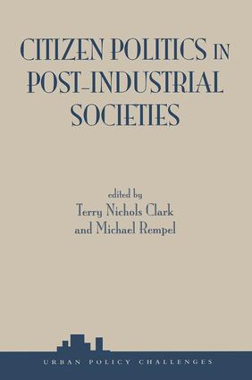 Citizen Politics In Post-industrial Societies: 1st Edition (Paperback) book cover
