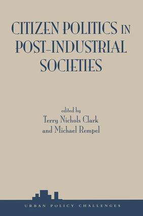 Citizen Politics In Post-industrial Societies