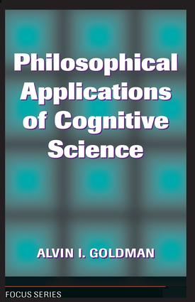 Philosophical Applications Of Cognitive Science: 1st Edition (Paperback) book cover