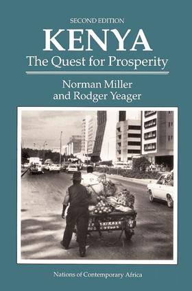 Kenya: The Quest For Prosperity, Second Edition, 2nd Edition (Paperback) book cover