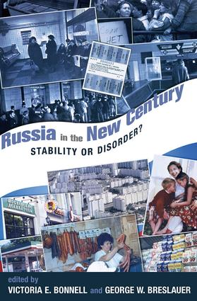 Russia In The New Century: Stability Or Disorder?, 1st Edition (Paperback) book cover