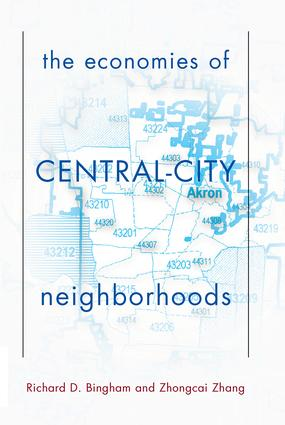 The Economies Of Central City Neighborhoods: 1st Edition (Paperback) book cover