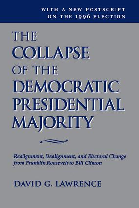 The Collapse Of The Democratic Presidential Majority