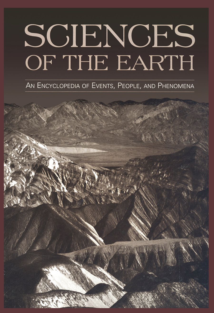 Sciences of the Earth: An Encyclopedia of Events, People, and Phenomena book cover