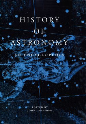 History of Astronomy: An Encyclopedia (Hardback) book cover