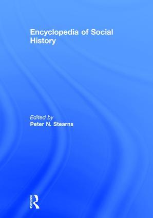 Encyclopedia of Social History: 1st Edition (Hardback) book cover