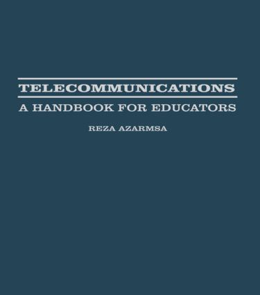 Telecommunications: A Handbook for Educators book cover