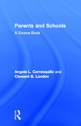 Parents and Schools: A Source Book, 1st Edition (Hardback) book cover