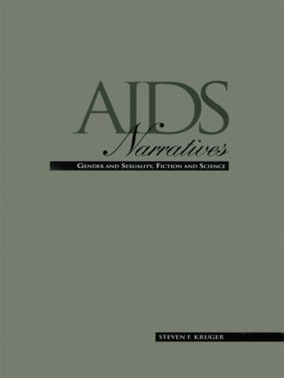 AIDS Narratives: Gender and Sexuality, Fiction and Science (Hardback) book cover