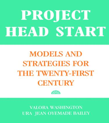 Project Head Start: Models and Strategies for the Twenty-First Century (Paperback) book cover