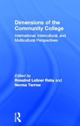 Dimensions of the Community College: International, Intercultural, and Multicultural Perspectives book cover