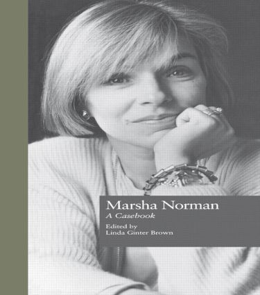 Marsha Norman: A Casebook, 1st Edition (Paperback) book cover