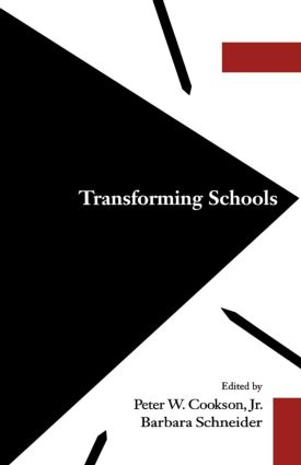 Transforming Schools: 1st Edition (Paperback) book cover