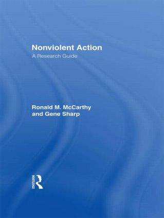 Nonviolent Action: A Research Guide, 1st Edition (Paperback) book cover