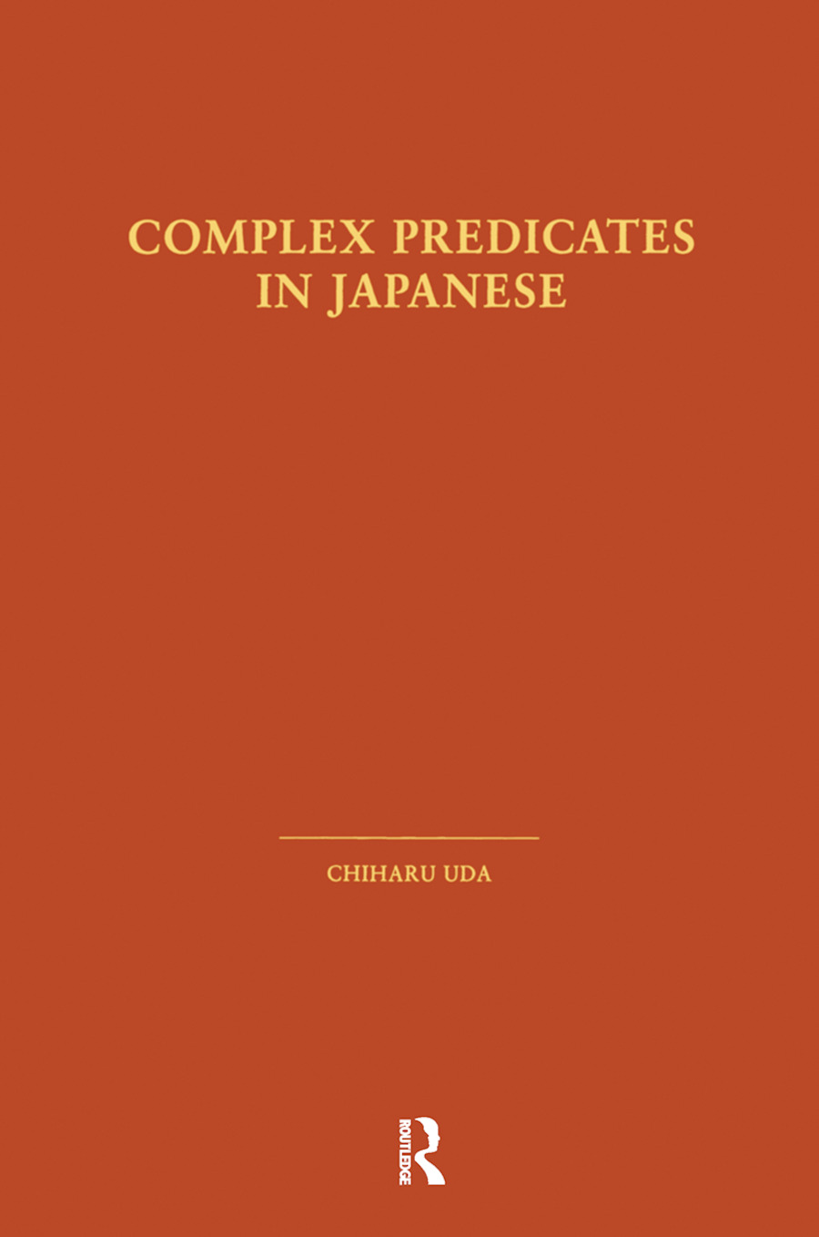 Complex Predicates in Japanese: 1st Edition (Hardback) book cover