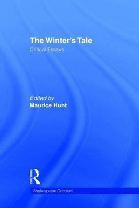 The Winter's Tale: Critical Essays (Hardback) book cover