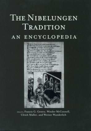 The Nibelungen Tradition: An Encyclopedia (Hardback) book cover