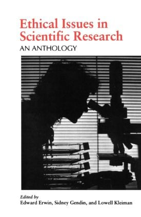 Ethical Issues in Scientific Research: An Anthology, 1st Edition (Paperback) book cover
