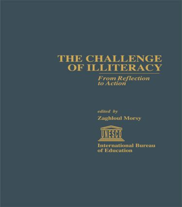 The Challenge of Illiteracy: From Reflection to Action (e-Book) book cover