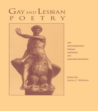 Gay and Lesbian Poetry: An Anthology from Sappho to Michelangelo, 1st Edition (Paperback) book cover