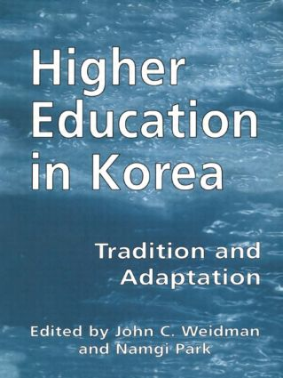 Higher Education in Korea: Tradition and Adaptation book cover