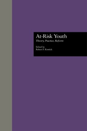 At-Risk Youth: Theory, Practice, Reform (Hardback) book cover