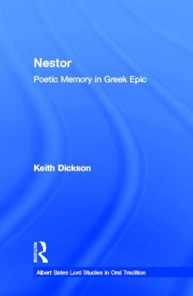 Nestor: Poetic Memory in Greek Epic book cover