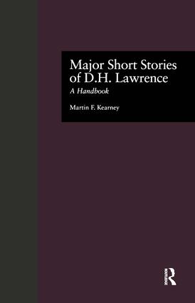 Major Short Stories of D.H. Lawrence: A Handbook book cover