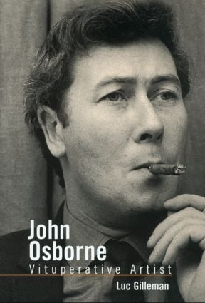 John Osborne: Vituperative Artist book cover