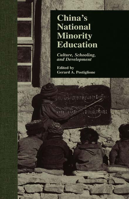 China's National Minority Education: Culture, Schooling, and Development (Hardback) book cover