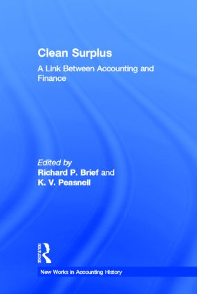 Clean Surplus: A Link Between Accounting and Finance (Hardback) book cover