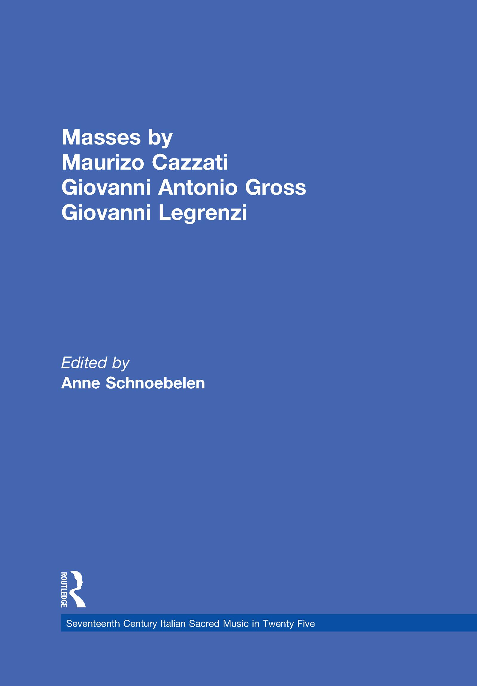 Maurizio Cazzati Missa brevis detta L'Austriaca