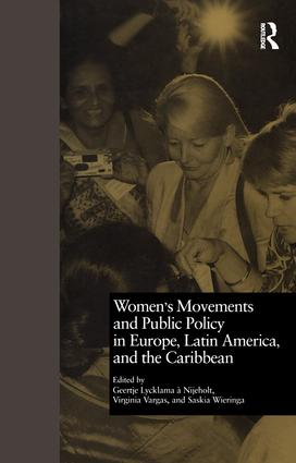Women's Movements and Public Policy in Europe, Latin America, and the Caribbean: The Triangle of Empowerment book cover