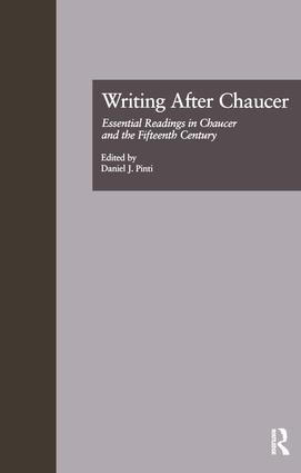 Writing After Chaucer: Essential Readings in Chaucer and the Fifteenth Century book cover